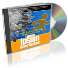 Upright CD Jewel Case With Blank CD Cover Actions