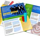 Tabloid 17 x 11 Bi Fold To US LTR 8.5 x 11 Brochure Mock Up Actions
