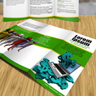 Tri-Fold Brochure Cover Actions -Full Version