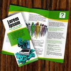 8.5 x 11 Tri Fold Brochure Mockup