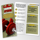 Vertical Letter Size Bi Fold Brochure Action Scripts