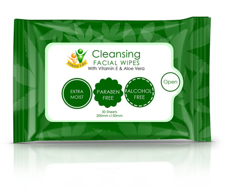 Cleansing Wipes Wrapper Mock Up Cover Actions Premium Mockup
